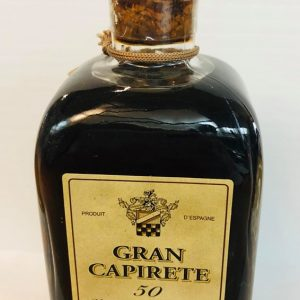 GRAN CAPIRETE vinaigre de Xérès 250ml 50 ans d'âge
