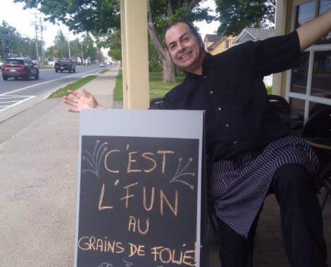 Jean Pascal, notre barista ! !