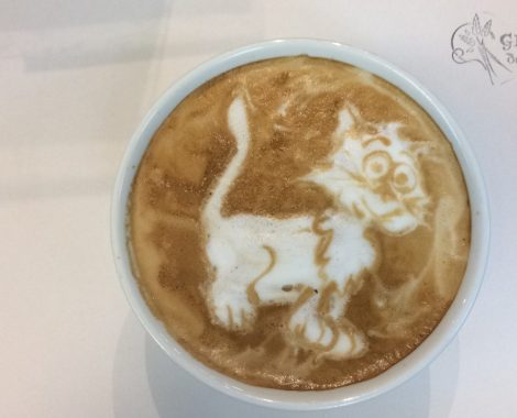 Un chat dans votre latté ?